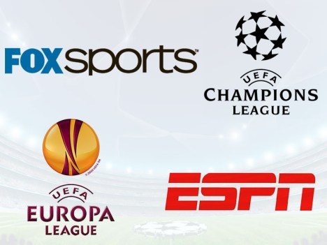 ESPN Y FOXSPORTS TRASMISION CONJUNTA DE LA UEFA