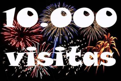 10000 VISITAS GRACIAS!!!!!!!!