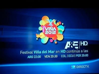 DIRECTV TRASMISION DE VIÑA 2012